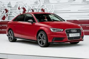 2016 Audi A3 Sedan with Audi Genuine Accessories
