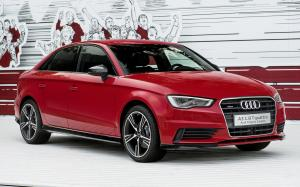 Audi A3 Sedan with Audi Genuine Accessories 2016 года (WW)
