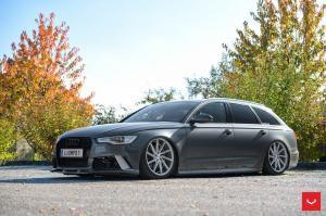 Audi A6 Avant on Vossen Wheels (CVT) 2016 года