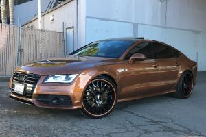 Audi A7 Sportback 3.0 TFSI Quattro S-Line on Forgiato Wheels (S205) 2016 года