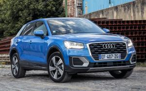 2016 Audi Q2 TFSI Design (Ara Blue) (WW)