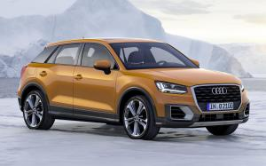 2016 Audi Q2 TFSI Design (Coral Orange) (WW)