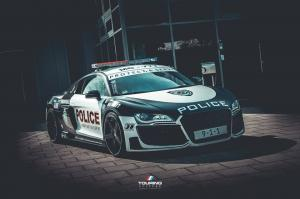 2016 Audi R8 Police Car Prepared for ADAC
