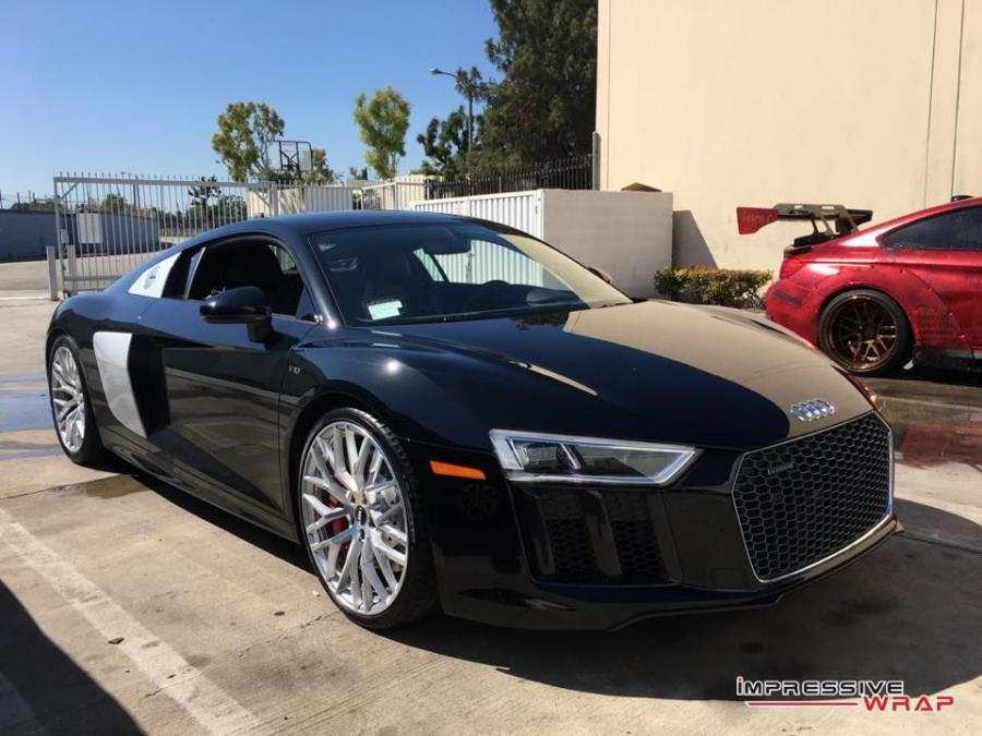2016 Audi R8 V10 4D Gloss by Impressive Wrap