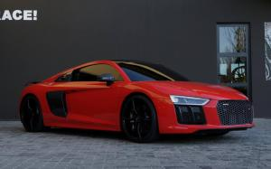 Audi R8 V10 Plus by RACE! on ADV.1 Wheels 2016 года