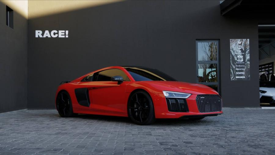 2016 Audi R8 V10 Plus by RACE on ADV.1 Wheels