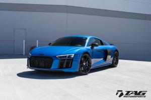 Audi R8 V10 Plus in Ara Blue by TAG Motorsports on HRE Wheels (HRE P104) 2016 года