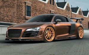 Audi R8 V10 by Prior Design on ADV.1 Wheels (ADV005 M.V2 CS) 2016 года
