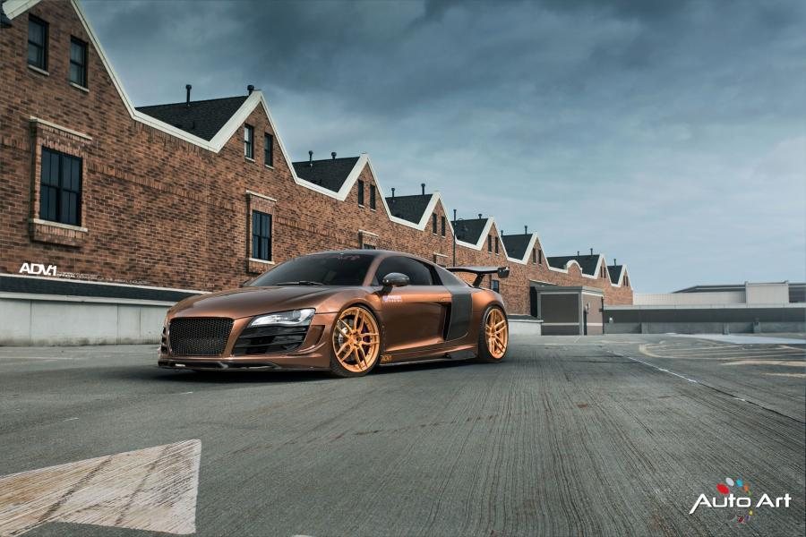 2016 Audi R8 V10 by Prior Design on ADV.1 Wheels (ADV005 M.V2 CS)