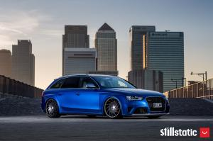 Audi RS4 Avant on Vossen Wheels (VLE1)