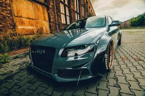 Audi RS4 Sedan WideBody by Best Performance on ADV.1 Wheels (ADV5.0 TRACK FUNCTION CS)