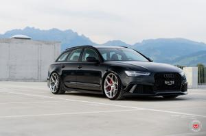 2016 Audi RS6 Avant on Vossen Wheels (CG-205)