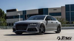 2016 Audi RS7 Sportback Nardo Gray by TAG Motorsports on ADV.1 Wheels (ADV5 M.V2 CS)