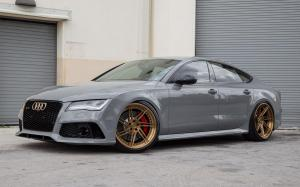 Audi RS7 Sportback on ADV.1 Wheels (ADV07R TRACK SPEC) 2016 года