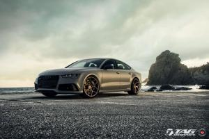 Audi RS7 Sportback by TAG Motorsports on Vossen Wheels (CG-205) 2016 года