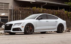 Audi S7 Sportback on ADV.1 Wheels (ADV7 Track Spec CS) 2016 года