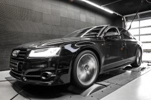Audi S8 Plus 4.0 TFSI Stage 3 by Mcchip-DKR 2016 года