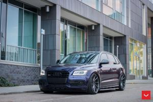 Audi SQ5 TDI on Vossen Wheels (CVT) 2016 года