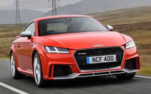 Audi TT RS Coupe 2016 года (UK)