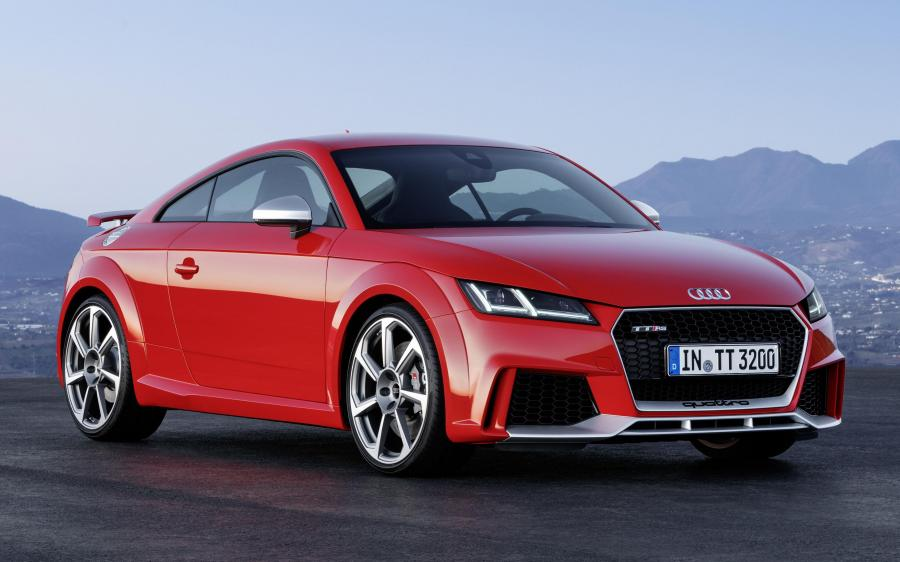 Audi TT RS Coupe (8S) (WW) '2016 - 19