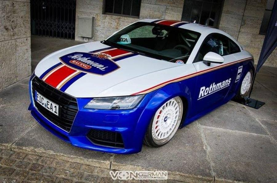 Audi TT in Rothmans Style by EAH Customs and KW
