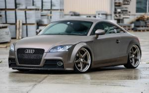 Audi TT Coupe on Vossen Wheels (VWS-3) 2016 года