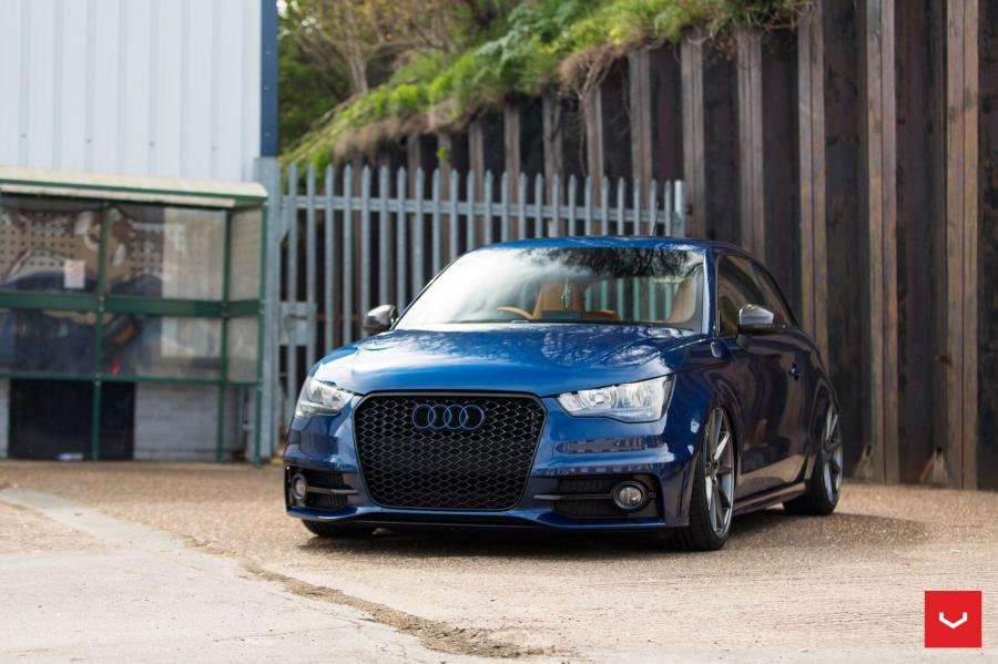 Audi A1 Quattro by QS Tuning on Vossen Wheels (VFS1)