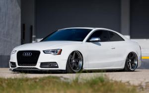 Audi A5 Coupe X Work on Vossen Wheels (VWS-3) 2017 года