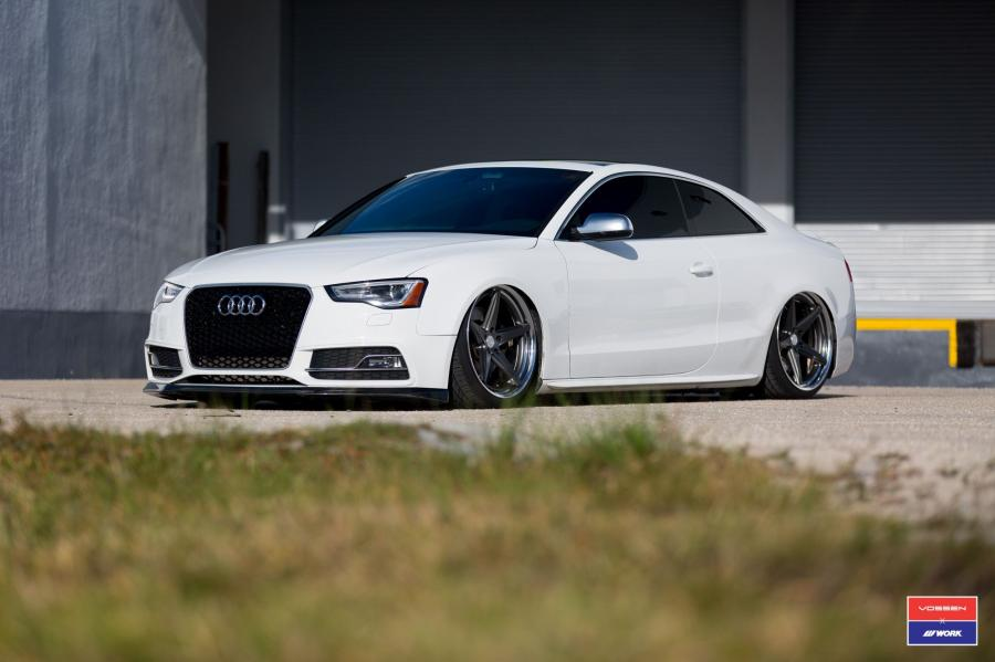 Audi A5 Coupe X Work on Vossen Wheels (VWS-3)