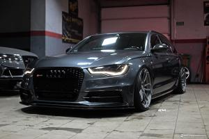 2017 Audi A6 Avant on ADV.1 Wheels (ADV5.3 M.V2 CS)