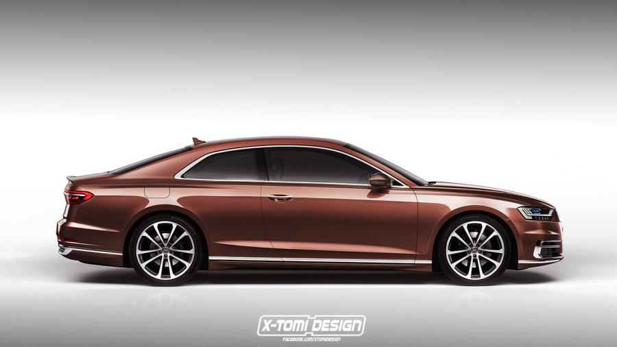 Audi A8 Coupe by X-Tomi Design