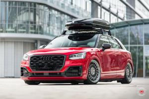 Audi Q2 on Vossen Wheels (ML-R2) 2017 года