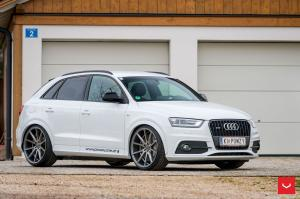 Audi Q3 on Vossen Wheels (VFS1)