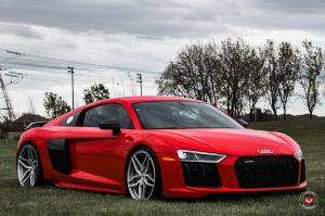 2017 Audi R8 V10 on Vossen Wheels (HC-2)