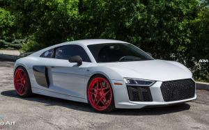 Audi R8 V10 by The Auto Art on ADV.1 Wheels (ADV05S M.V2 CS) 2017 года