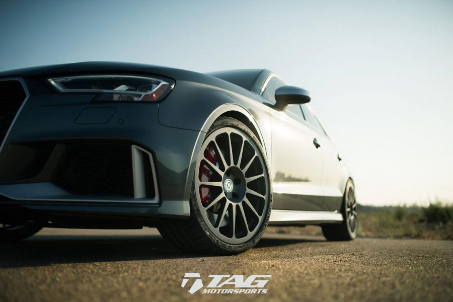 Audi RS3 Sedan by TAG Motorsports on HRE Wheels (303M)