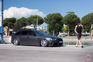 Audi RS4 Avant on Vossen Wheels (VPS-306)