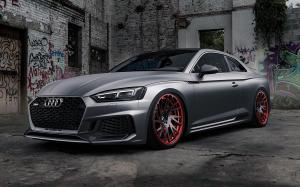 Audi RS5 Coupe on Forgiato Wheels (TEC 2.5) 2017 года