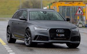 Audi RS6 Avant on Vossen Wheels (VFS6) 2017 года