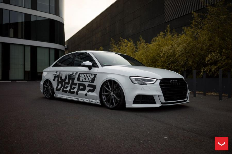 2017 Audi S3 Sedan on Vossen Wheels (VFS10)