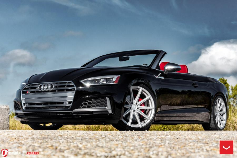Audi S5 Cabriolet on Vossen Wheels (VFS10)