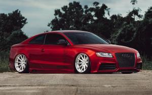 Audi S5 Coupe X Work on Vossen Wheels (VWS-1) 2017 года