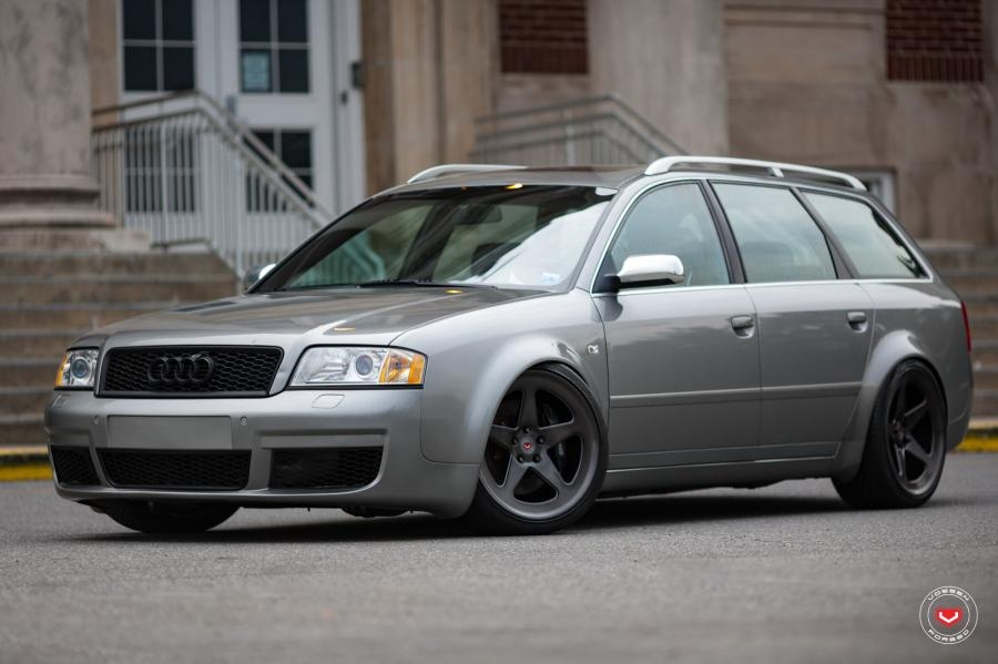 Audi S6 Avant on Vossen Wheels (LC-101)