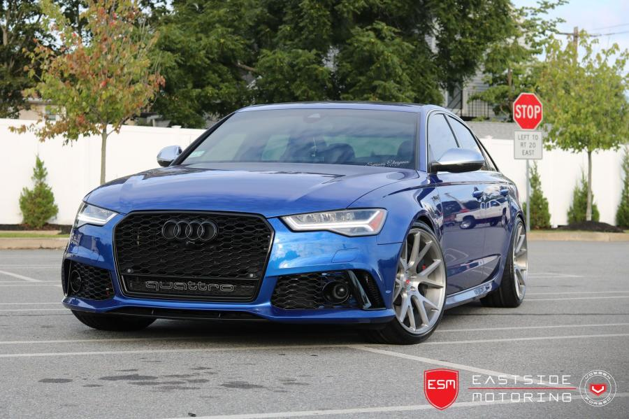 Audi S6 Sedan by EastSide Motoring on Vossen Wheels (VPS-306)