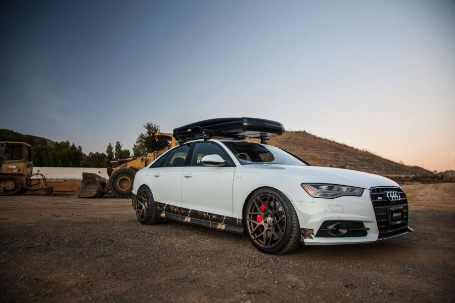 Audi S6 Sedan on HRE Wheels (FF01)