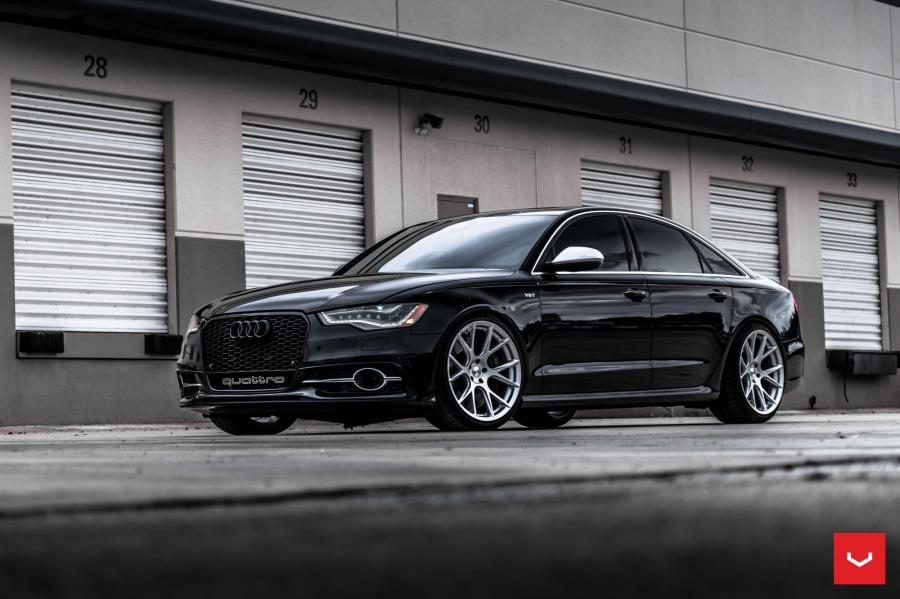 Audi S6 Sedan on Vossen Wheels (VFS6)