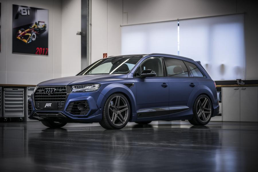 Audi SQ7 TDI Vossen 1 of 10 by ABT