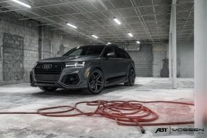Audi SQ7 by ABT on Vossen Wheels (AVX) 2017 года