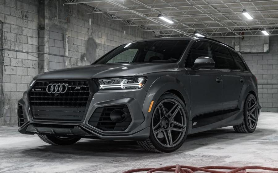Audi SQ7 by ABT on Vossen Wheels (AVX)