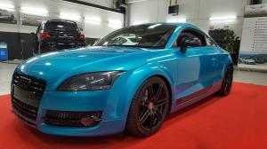 Audi TT Coupe Gloss Atomic Teal by Folienwerk-NRW 2017 года
